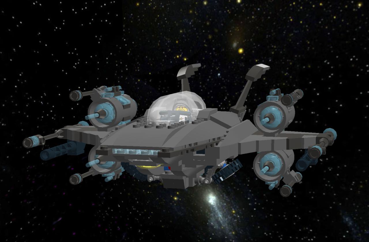 Star Falcon IV Star Fighter Lddscr15