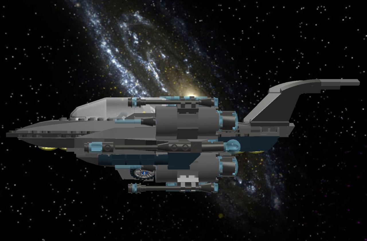 Star Falcon IV Star Fighter Lddscr16