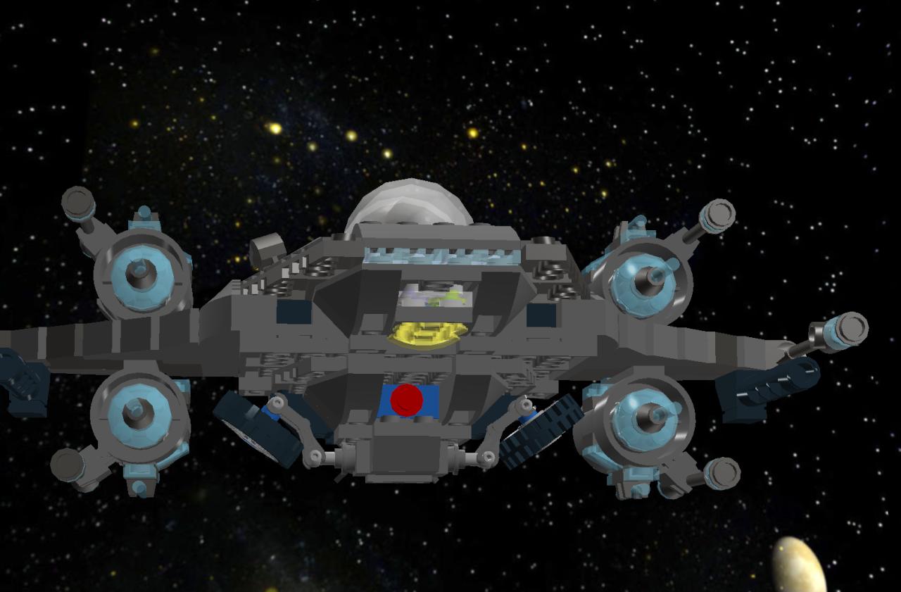 Star Falcon IV Star Fighter Lddscr17