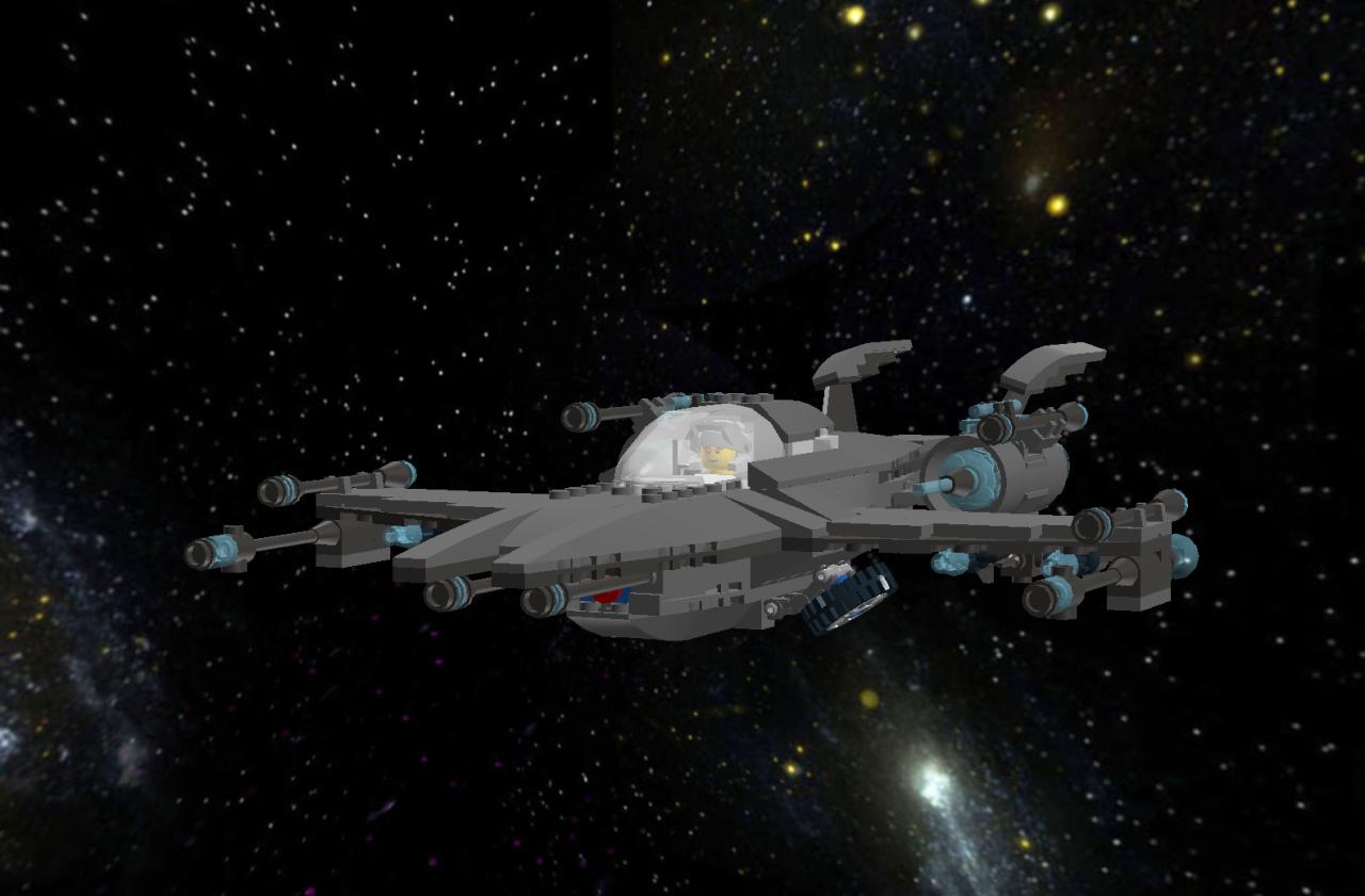 Star Phoenix IV Star Fighter Lddscr18