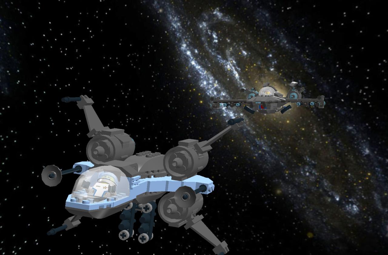 Star Phoenix IV Star Fighter Lddscr21