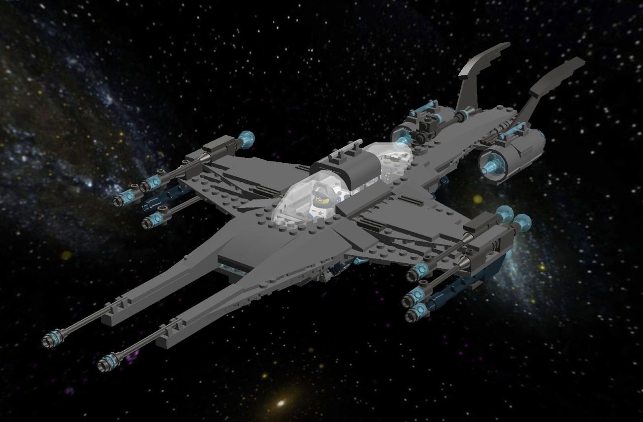 Star Cruiser IIb Light Bomber Lddscr23