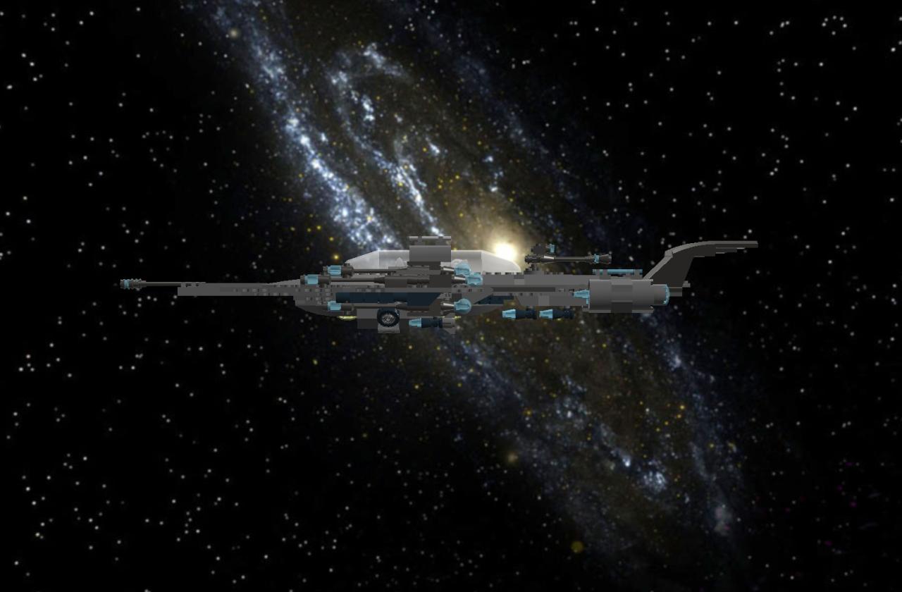 Star Cruiser IIb Light Bomber Lddscr24