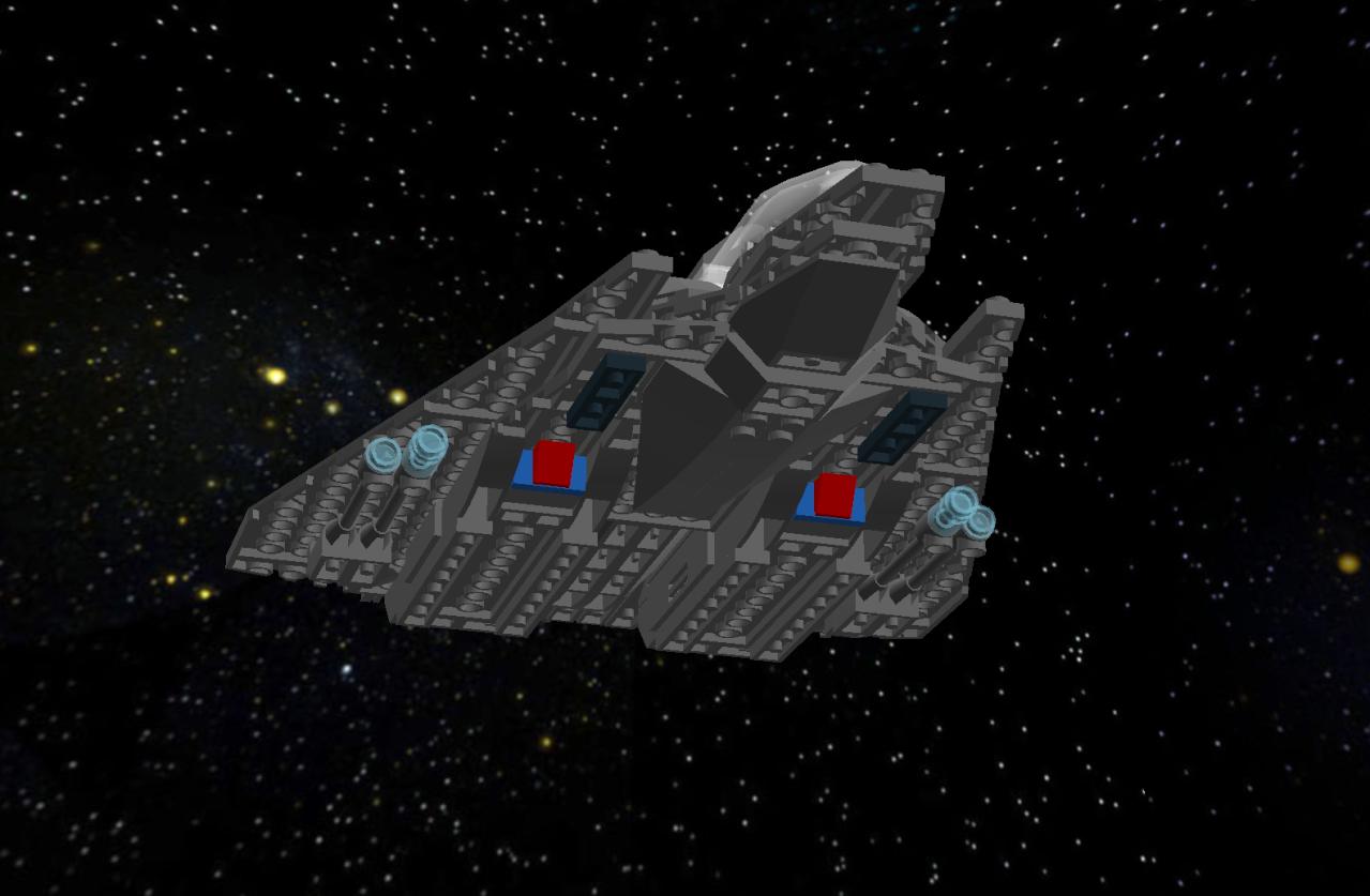 Starling Class Long Range Interceptor Lddscr36